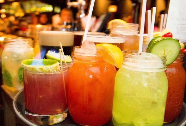 Sample of the cocktails at La Distillerie (Credit: montreal.tv)