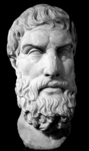 Epicurus Greek Philosopher Pursuit Pleasure