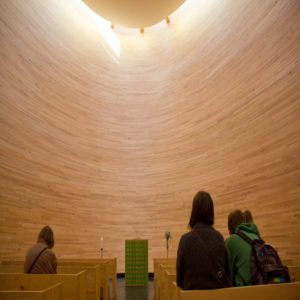 Kamppi Chapel of Silence Interior - Things to Do in Helsinki, Finland